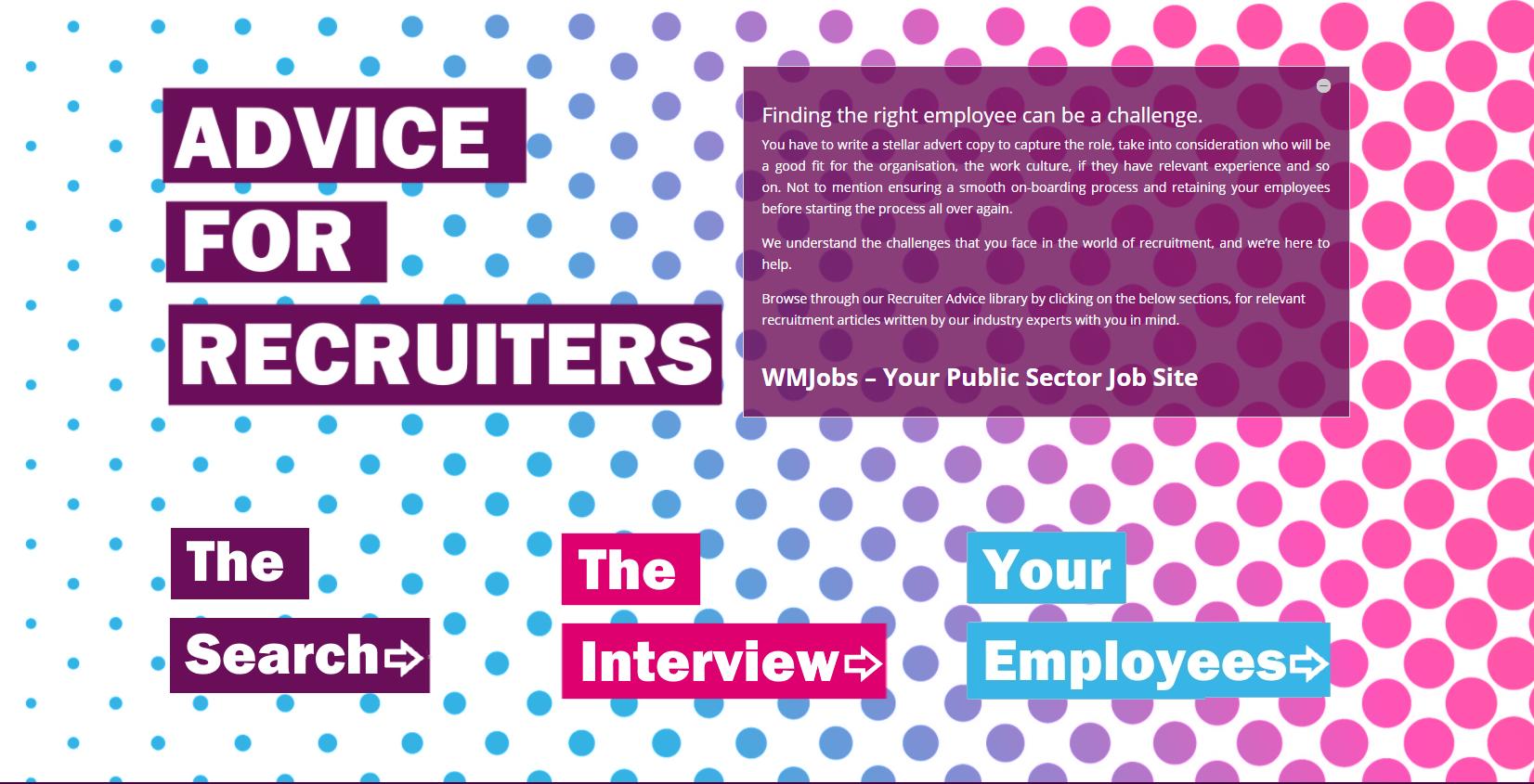 recruiter advice website