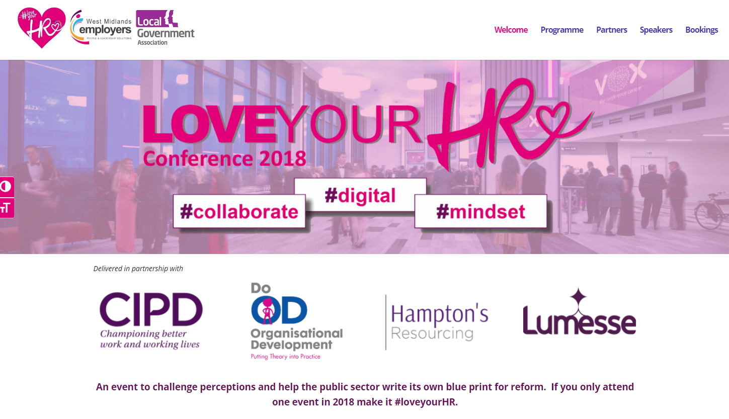 Love your HR Conf website